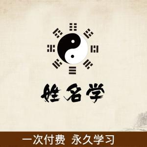 陈建桥姓名学培训班视频课共10集